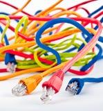 Bounch van kabels Stock Afbeeldingen