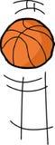 Bouncing Basketball Royalty Free Stock Photography