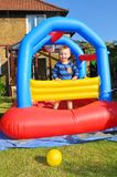 Bouncing castle Royalty Free Stock Photo