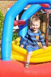 Bouncing castle Royalty Free Stock Photos