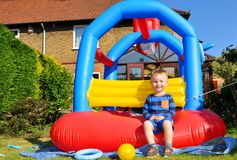 Bouncing castle Stock Photography