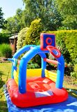 Bouncing castle Royalty Free Stock Photography