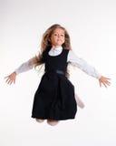 Bouncing girl Stock Photos