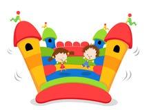 κάστρο bouncy Στοκ εικόνες με δικαίωμα ελεύθερης χρήσης