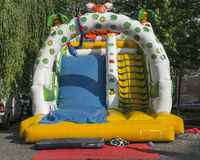 Bouncy Castle Stock Photography