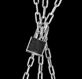 Bound Chains Stock Image