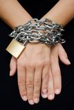 Bound Hands Stock Images