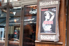 Bound pub billboard Royalty Free Stock Photography