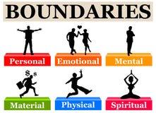 Boundaries Royalty Free Stock Images