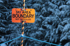 Boundary Royalty Free Stock Photography