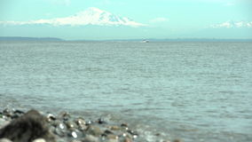 Boundary bay, mount Baker, Washington State. 4K UHD