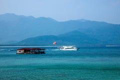 Boundary Island Lingshui diving Island Stock Photos