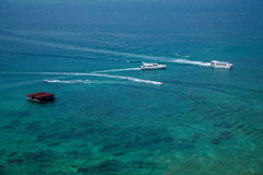 Boundary Island Lingshui diving Island Royalty Free Stock Photos