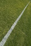 Boundary line of playing field Stock Images