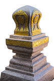 Boundary marker of a temple (Sema) Royalty Free Stock Photos