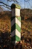 Boundary pillar Stock Photography
