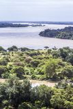 Limpopo river in Mapungubwe National park, South Africa. Boundary river between South Africa and Zimbabwe Royalty Free Stock Image
