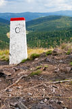 Boundary Stone Royalty Free Stock Image