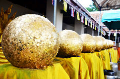 Boundary stones blessing called Loknimit or Embed Luk Nimit Sima Stock Image