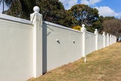Boundary Wall Electrified Fence Stock Photos