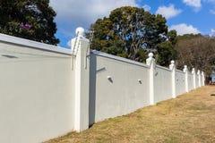 Boundary Wall Electrified Fence Royalty Free Stock Photos