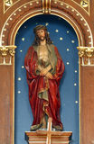 Bounded Jesus. Statue in the Parish Church of Saint Martin in Scitarjevo, Croatia Royalty Free Stock Photo