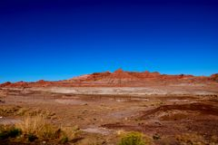 Boundless area desert. Red mountain. Red land. Arizona. Boundless area desert. Red mountain. Red land Arizona stock images