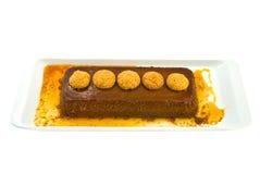 Bounet: un dulce iatalian típico (de piedmont) foto de archivo