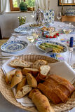 Bountiful table Royalty Free Stock Photo