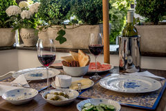Bountiful table. Still life of a bountiful table Royalty Free Stock Photography