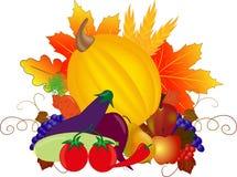 Bountiful Thanksgiving. royalty free illustration