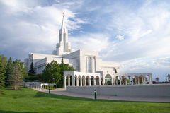 Bountiful Utah LDS temple Royalty Free Stock Images
