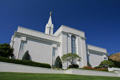 Bountiful Utah Mormon Temple Stock Images