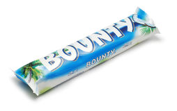 Bounty chocolate stock photos