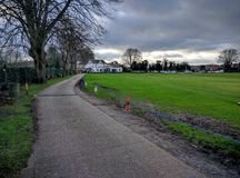 The Bounty Cricket Ground in Hampshire Royalty Free Stock Photo