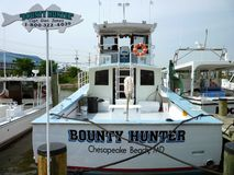 Bounty Hunter Charter Boat royalty free stock photo