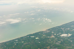 Bounty Island Aerial View, Andaman Sea - Phuket, Thailand Royalty Free Stock Images