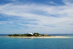 Bounty isle fiji. Very small idyllic island bounty isle fiji stock photos