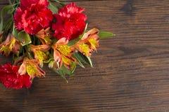 Bouqet de la flor Fotos de archivo libres de regalías