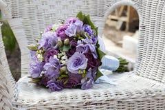 Bouqet della sposa Immagine Stock
