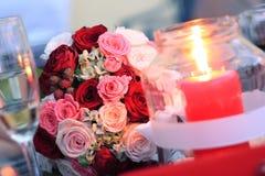 Bouqet elegante dei fiori di nozze Immagine Stock Libera da Diritti