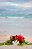Bouqet tropicale Fotografia Stock Libera da Diritti