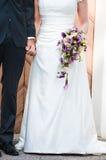 Bouqet voor een huwelijk Stock Foto's