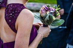 Bouqet voor een huwelijk Stock Afbeelding