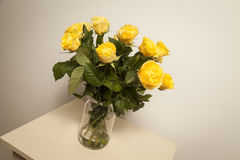 Bouqet of yellow roses Stock Image