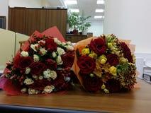 2 bouqetes цветков Стоковое фото RF
