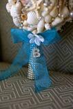 Bouque nuptiale des coquillages Photographie stock