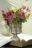 Bouque rosa del fiore Fotografie Stock