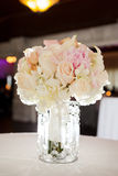 Bouquet of flowers on table Royalty Free Stock Images