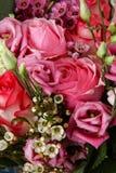 Bouquet énorme des roses Image libre de droits